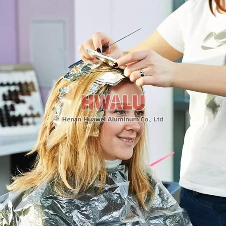 aluminum foil for hair