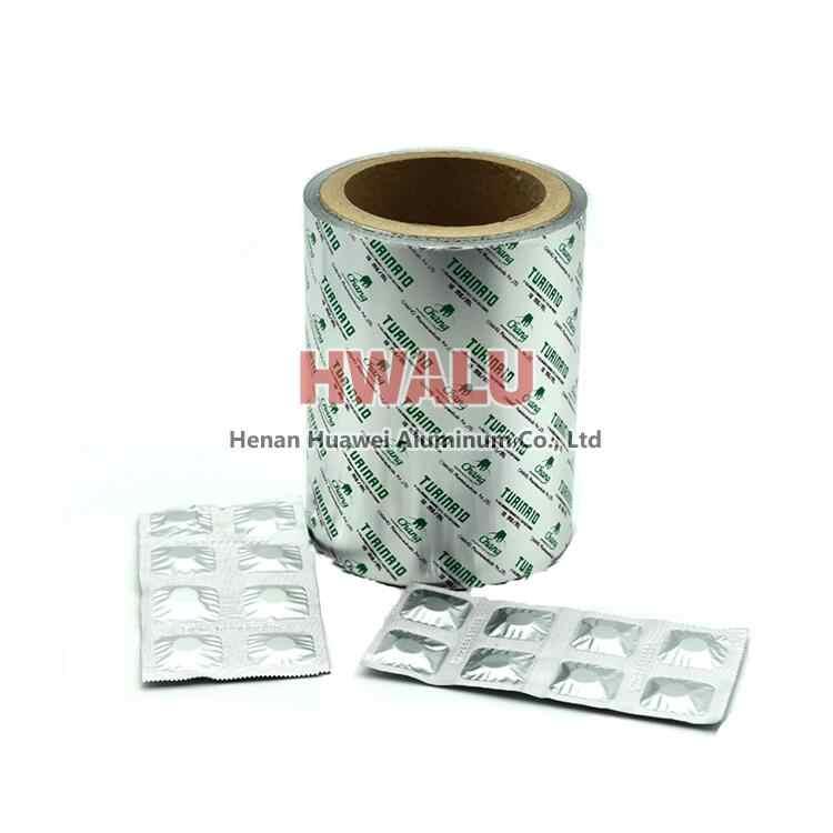 aluminum strip foil for pills foil packaging