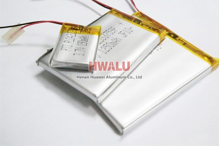 aluminum foil battery