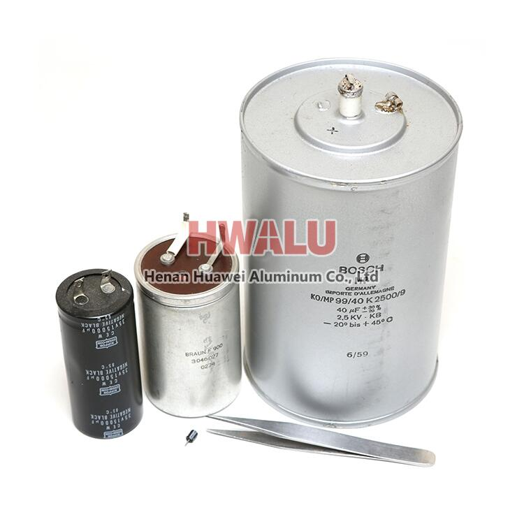 aluminum foil for electrolytic capacitor