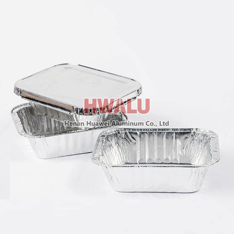 aluminum foil food container lid